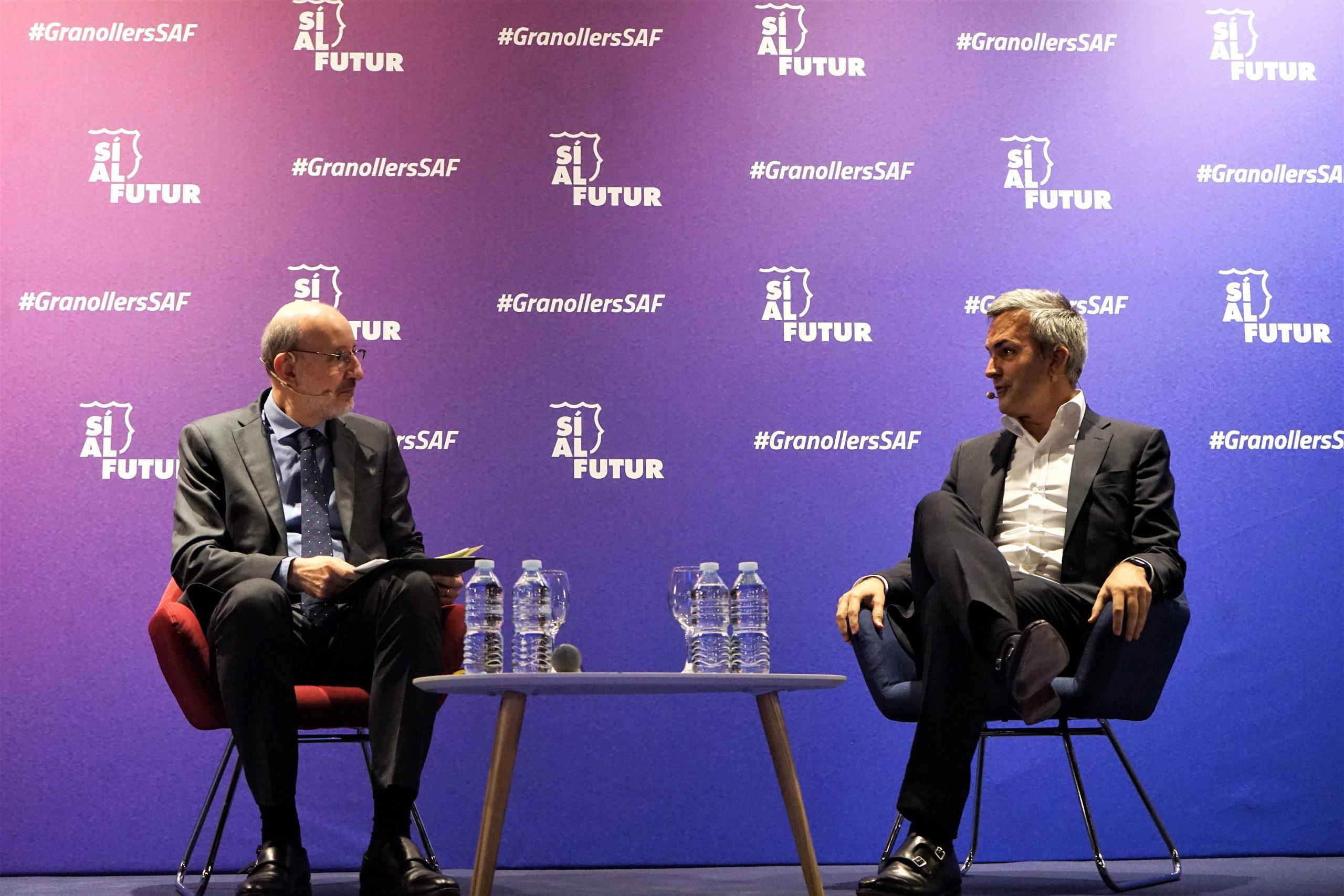 Les fotos de la presentació de Víctor Font i Sí al futur a Granollers