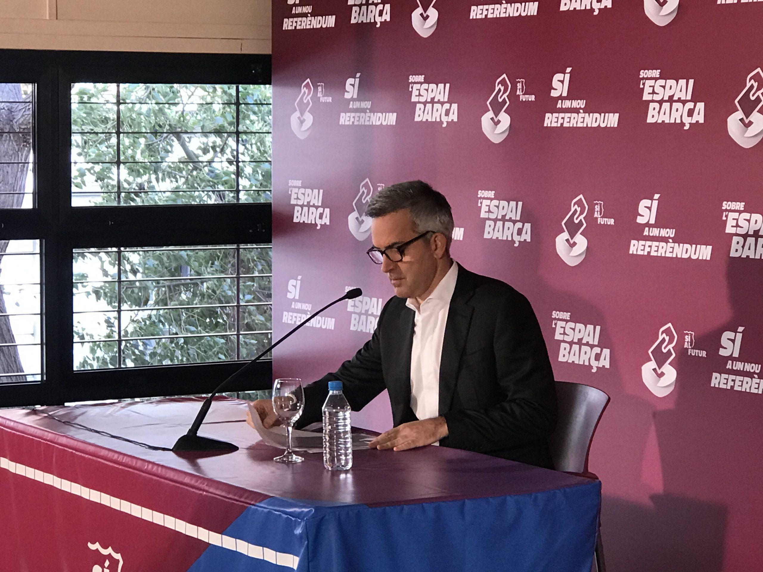 Tot sobre el referèndum per decidir el finançament de l'Espai Barça