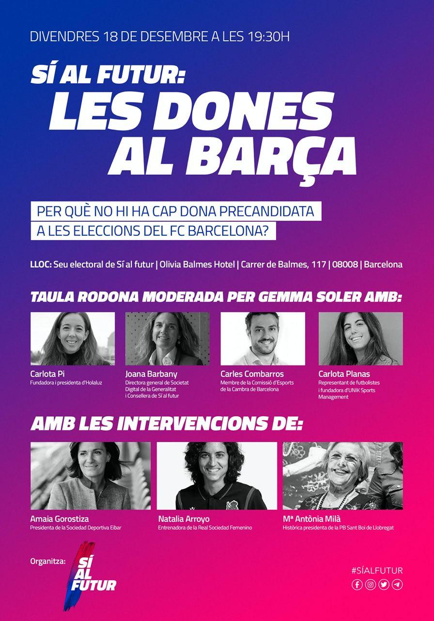 Sí al futur: les dones al Barça