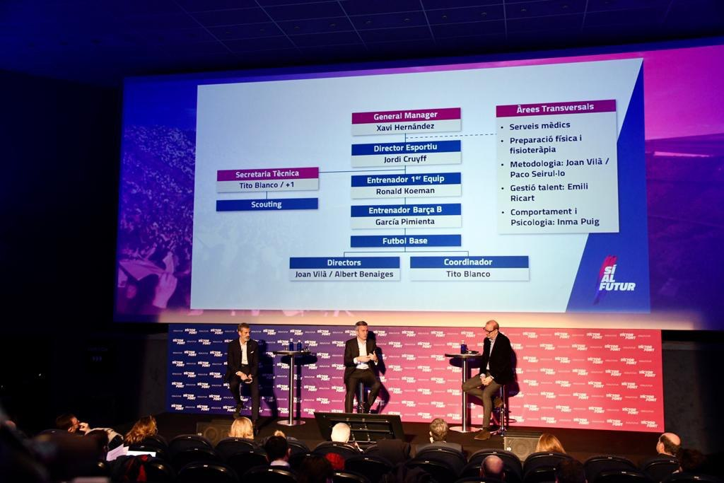 Xavi Hernández and Jordi Cruyff will lead the football project of FC Barcelona