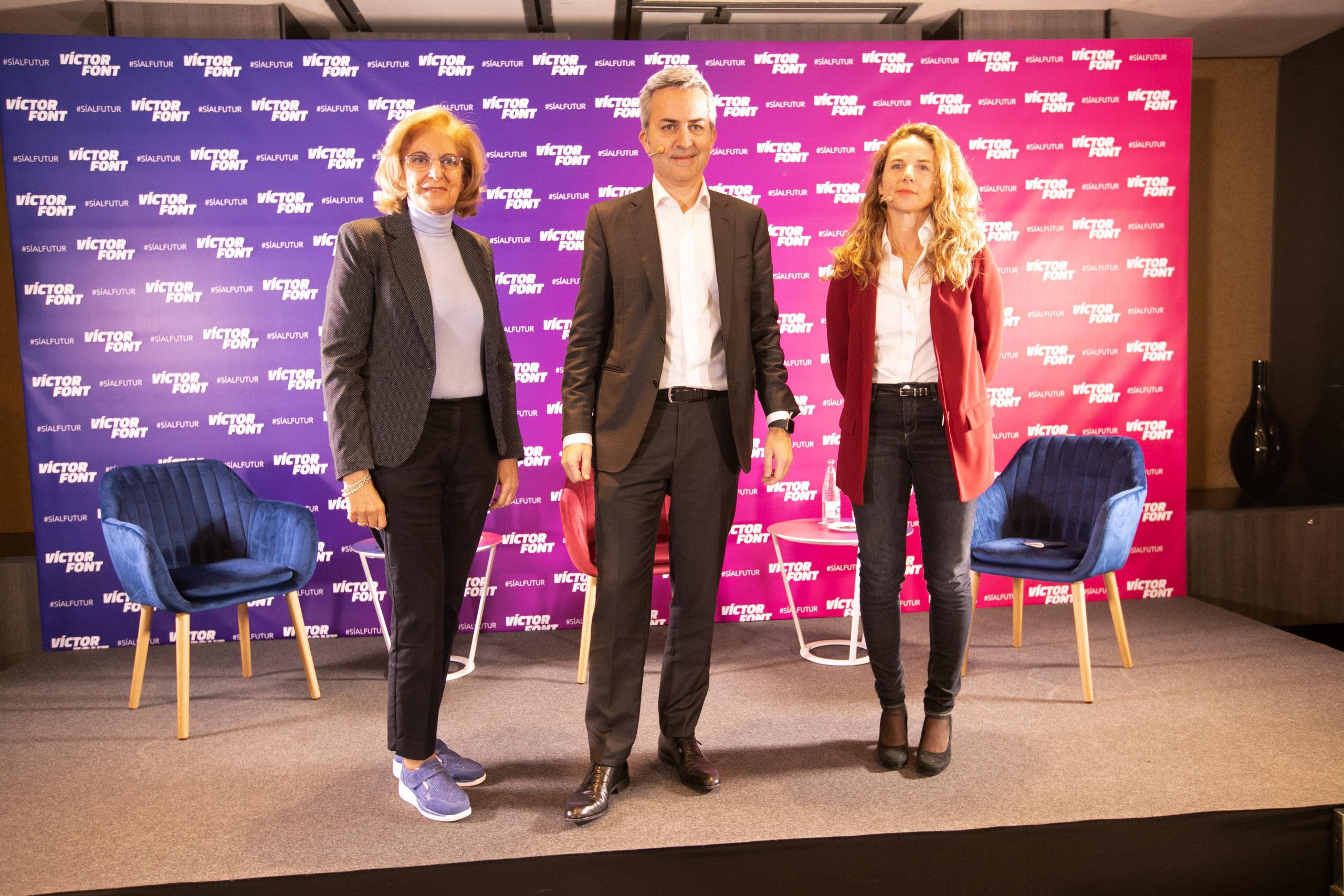 Joana Barbany y Mª Teresa Andreu, primeras consejeras de Sí al futur