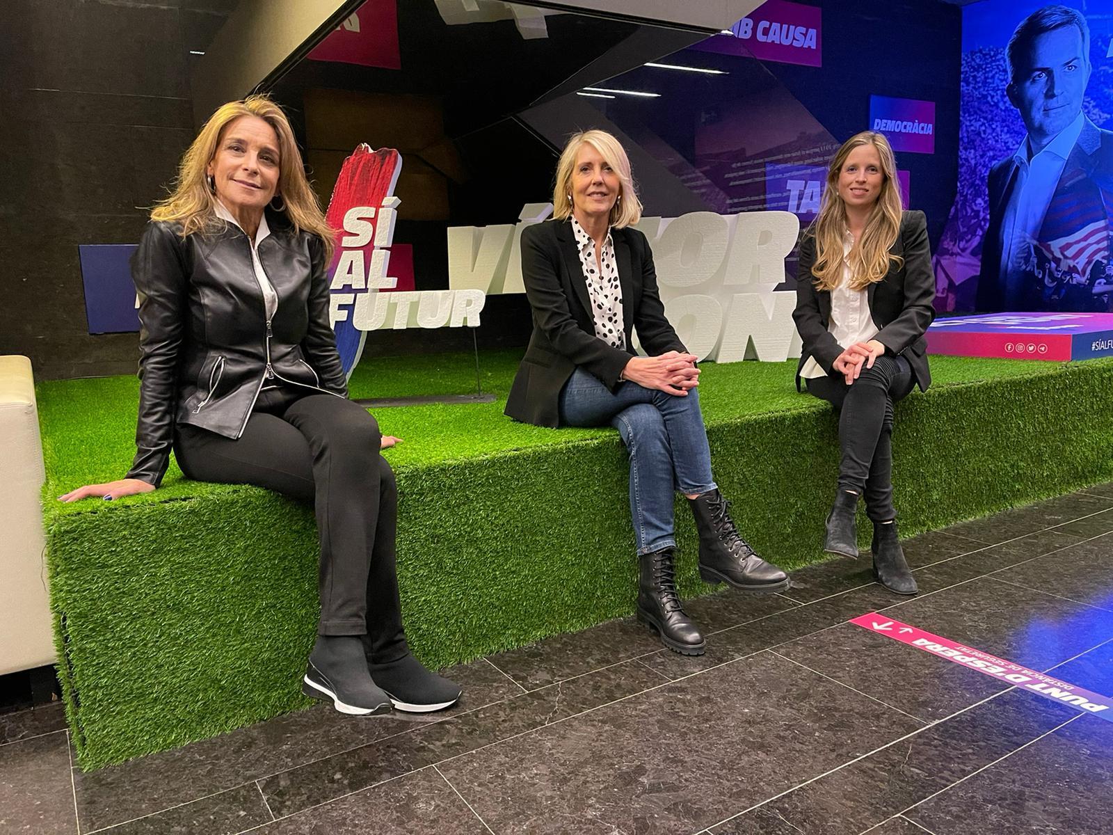 Annamari Basora, Carolina Fabregat i Maria José Balañá, noves conselleres de Sí al futur