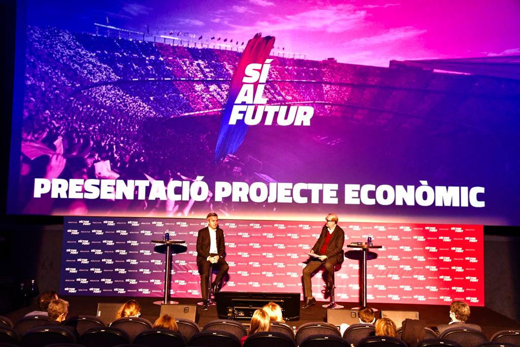 Sí al Futur's financial programme will avoid the need for Barça to be converted into a PLC and will enable the Club to keep competing for trophies on all fronts