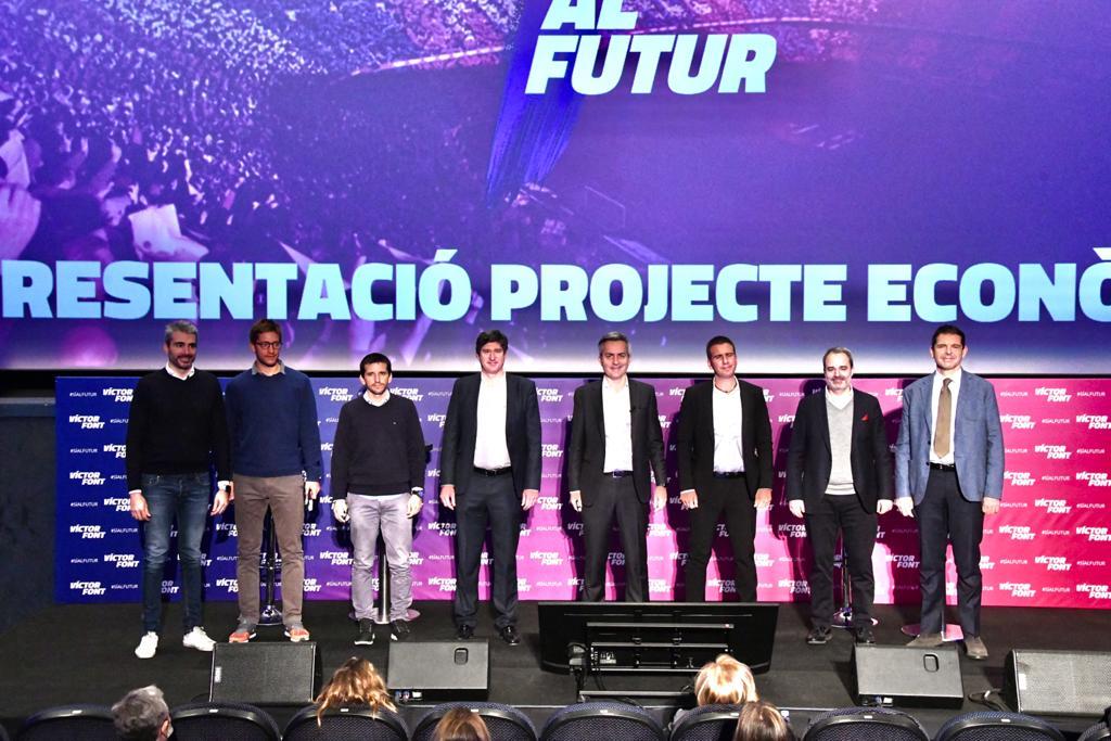 Sí al futur ja ha presentat a tots els membres del seu Consell Directiu
