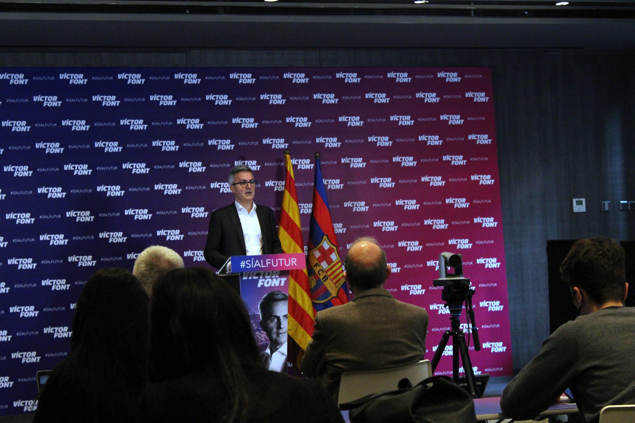 Més de 35.000 socis indecisos decantaran les eleccions del 7M a favor de Font o Laporta