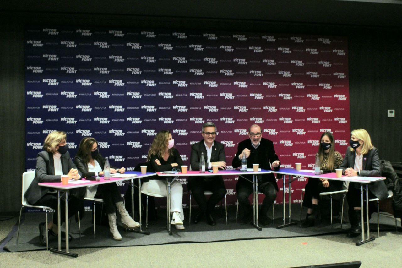 Les cinc conselleres de Sí al futur presenten el projecte